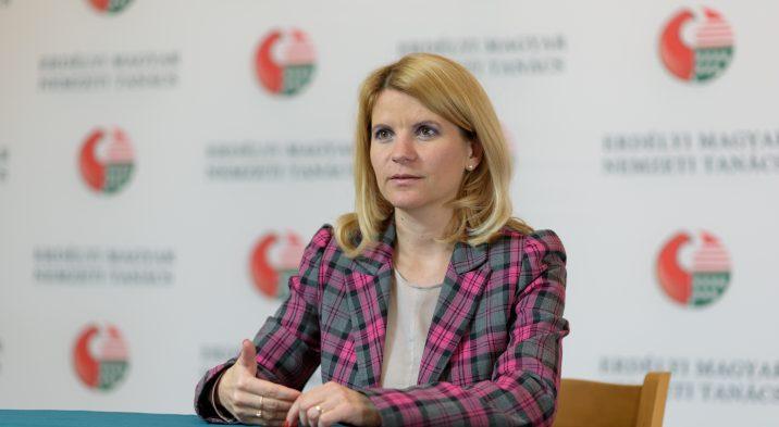 Megyei tanácsos lett Sándor Krisztina, az EMNT ügyvezető elnöke